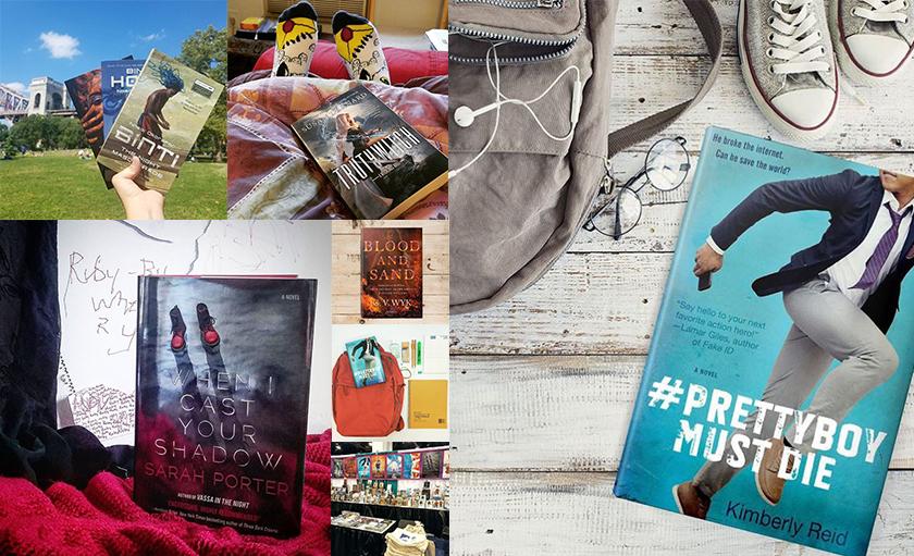 Bookstagram photo mashup